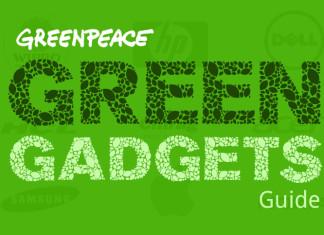 Greenpeace green gadgets