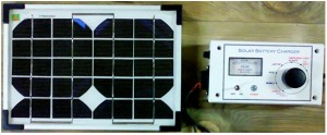 Green Ideas India - Solar battery charger