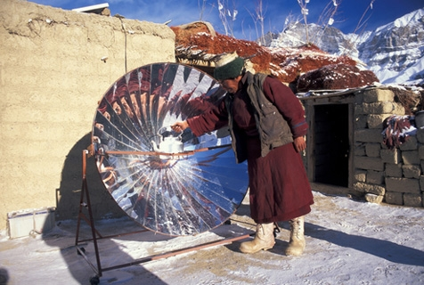 Solar Cooking in Ladakh
