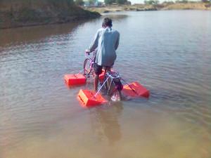 Mohammad Saidullah - Amphibious Bicycle