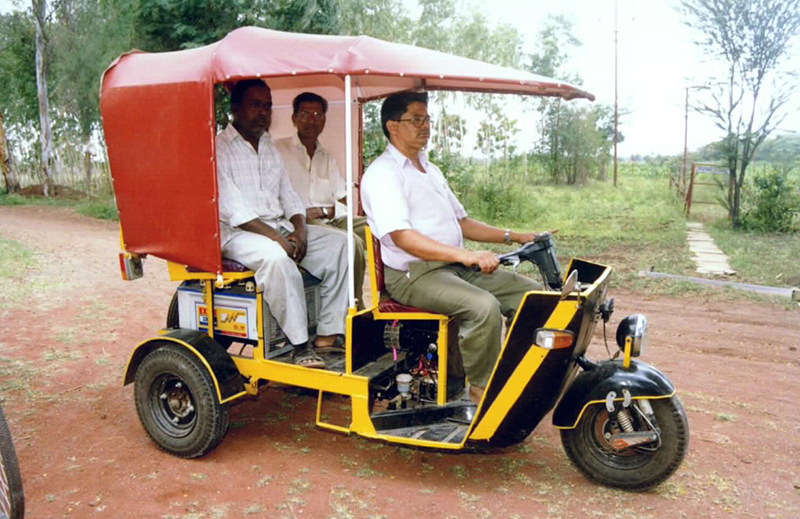 Electric Rickshaws in India