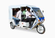E-rickshaws in India