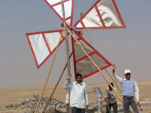 Low-cost-wind-powered-pump-India-1
