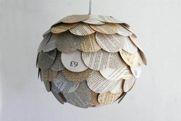 10 ways to re use waste paper for Waste paper wall hanging