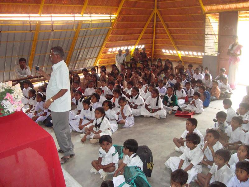 Inside Paranga School