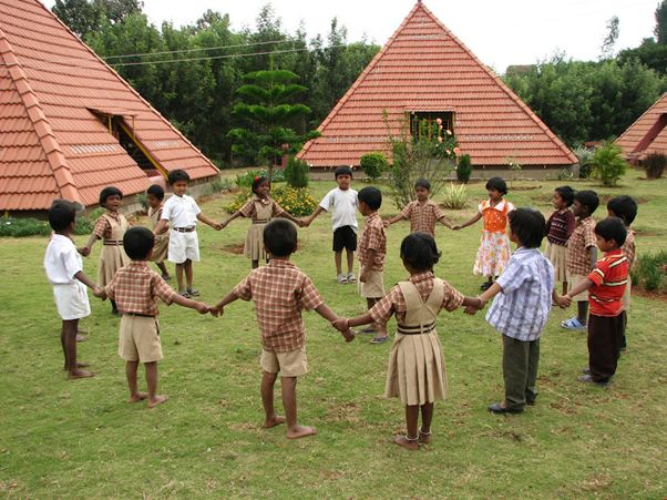 The Pyramid School Paranga Vidya Kendra children