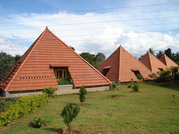The Pyramid School Paranga Vidya Kendra pyramids