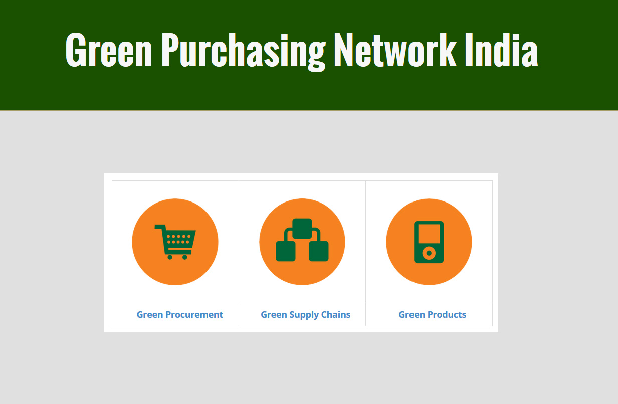 Green Purchasing Network India