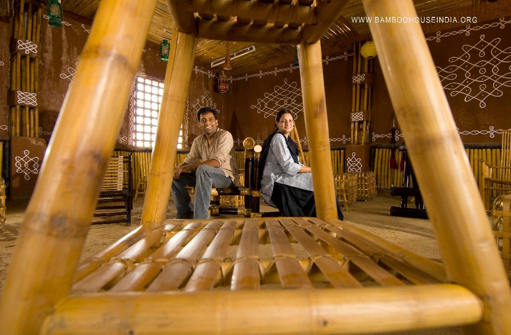 Bamboo for housing and home furnishings for What is the cost of building a house in india