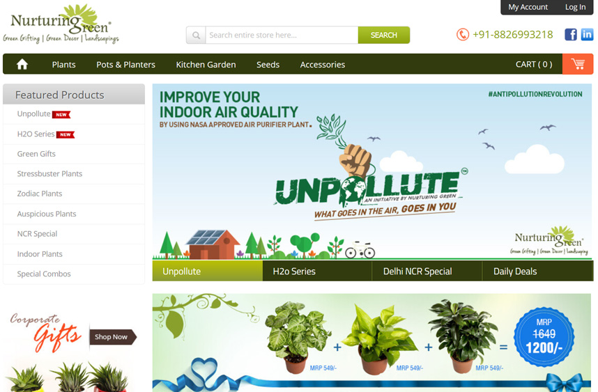 Nurturing Green Retail Pvt. Ltd,