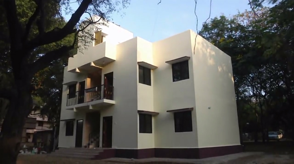 Iit madras innovates eco friendly low cost houses for What is the cost of building a house in india