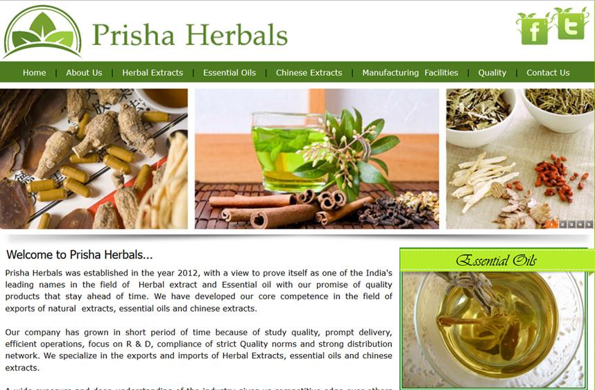 Prisha Herbals