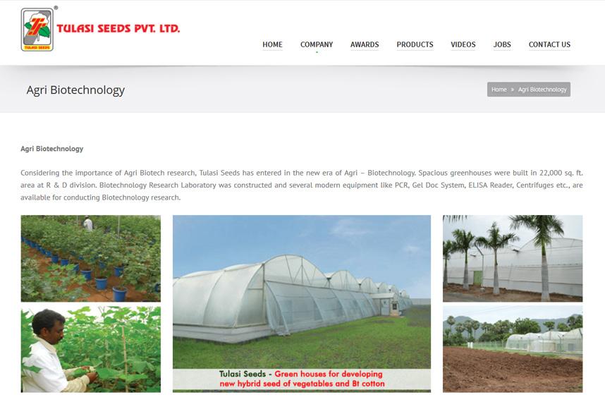 Tulasi Seeds Pvt. Ltd.
