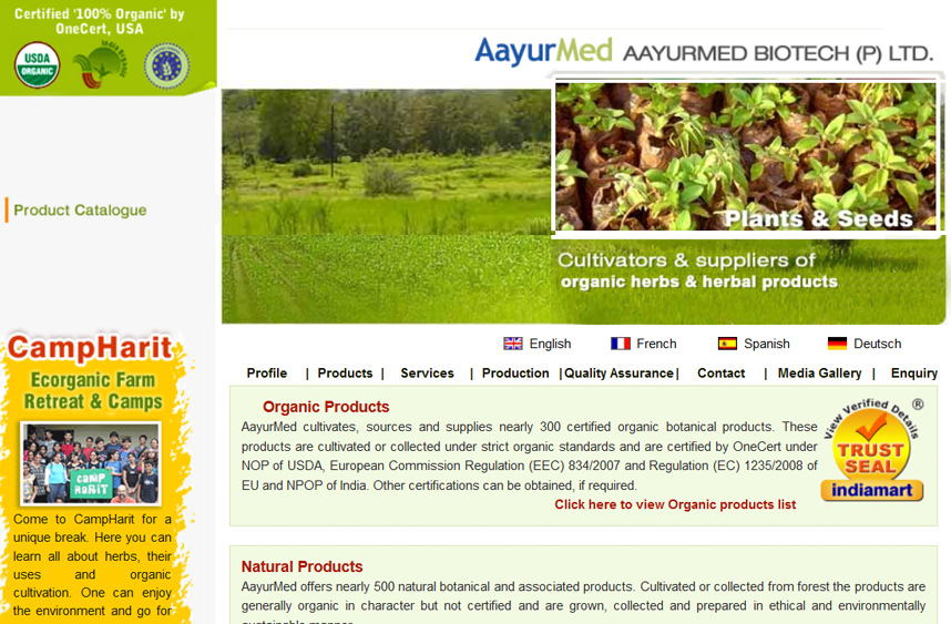 Aayurmed Biotech P Ltd