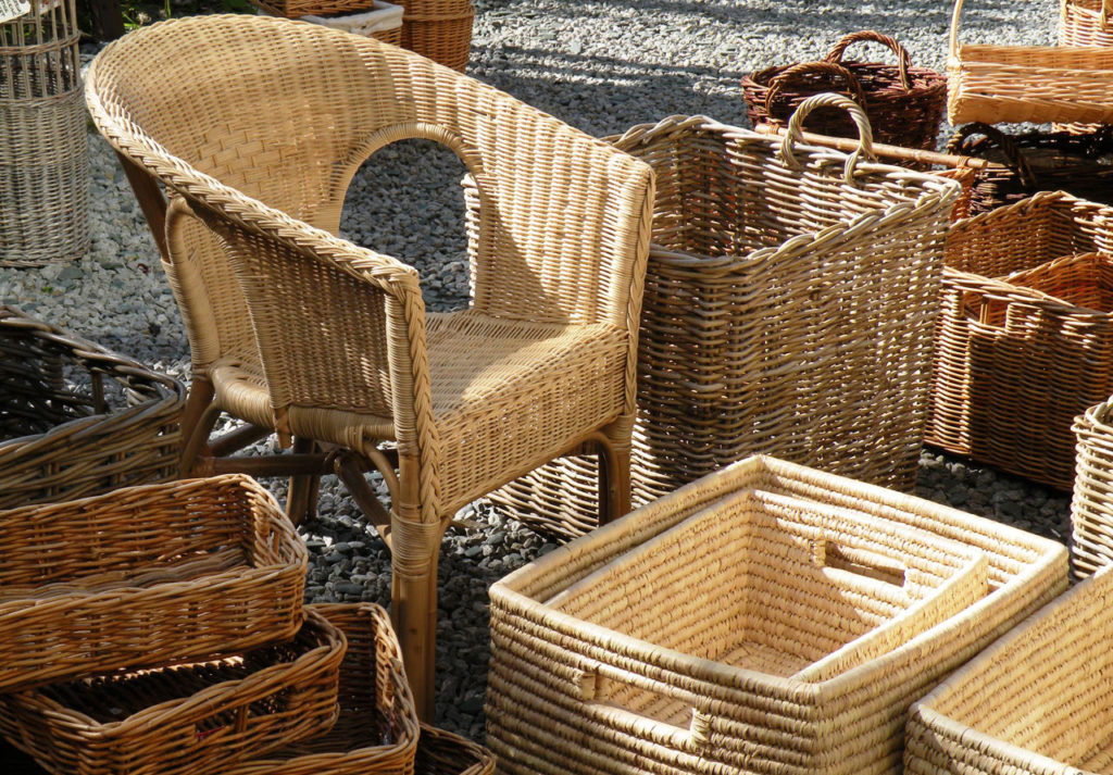 Use eco friendly furniture to save environment money as well for What is wicker furniture
