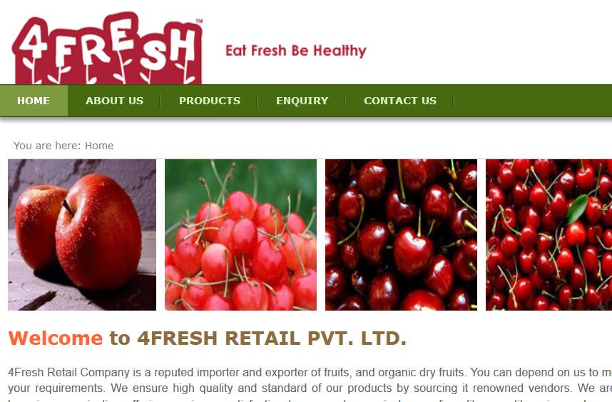 4Fresh Retail Pvt. Ltd.