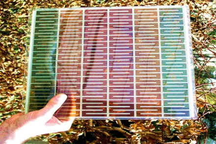 Nanotechnology in Solar Energy - Dye Sensitized Solar Panels