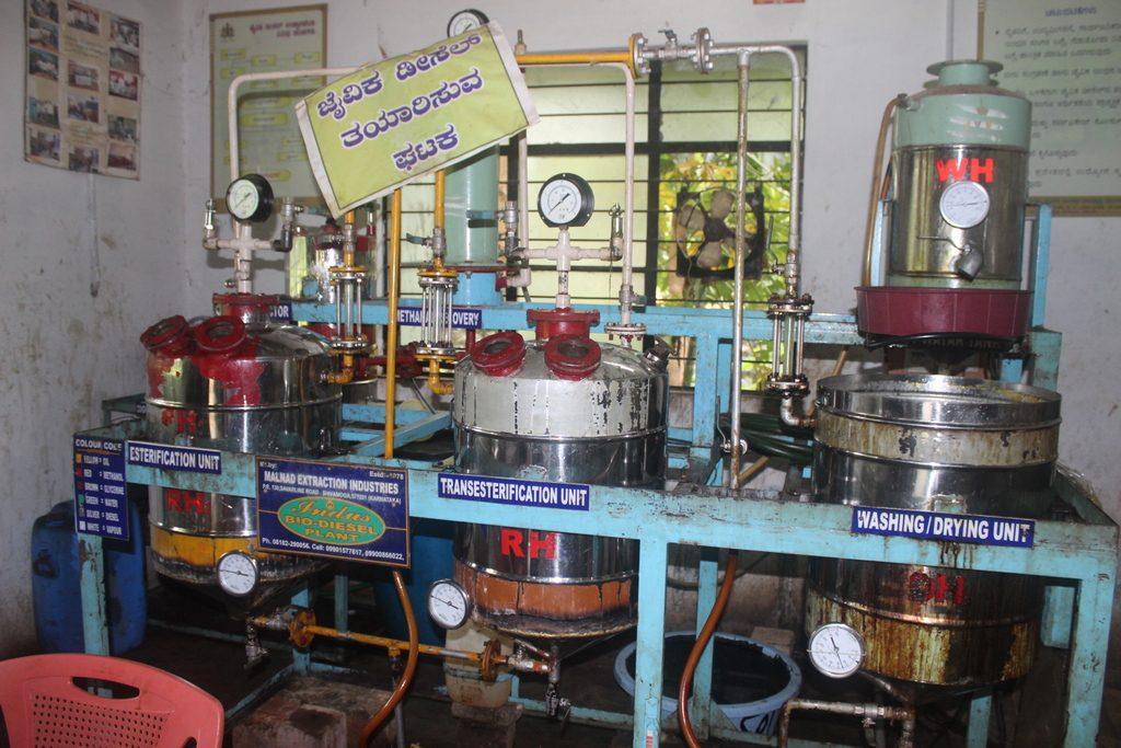 Biodiesel-trans-esterification