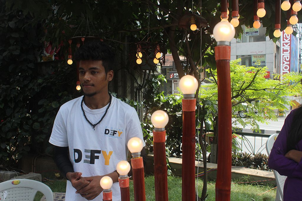 Bengaluru-mini-maker-faire-project-defy-bamboo