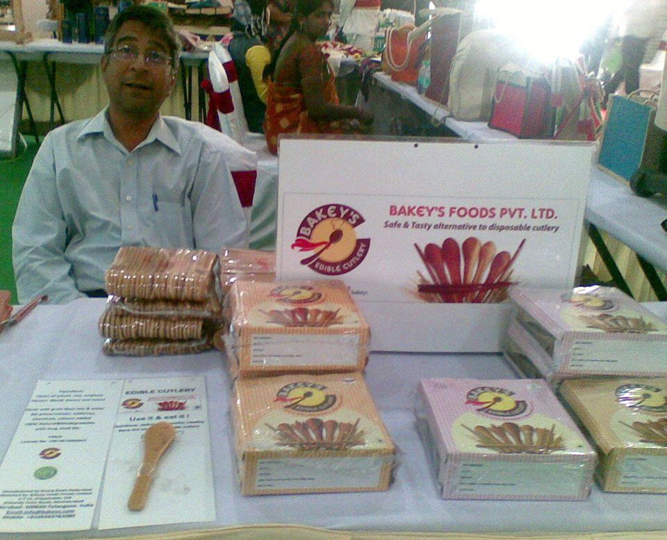 Narayana Peesapat Bakey's Edible Cutlery