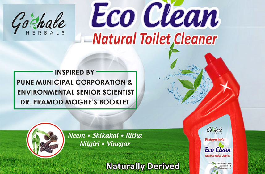 Eco Clean - Biodegradable Toilet Clear