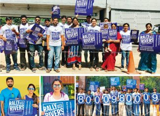 Rally For Rivers Hyderabad