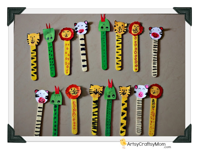 Ice-Cream-Sticks-Bookmarks