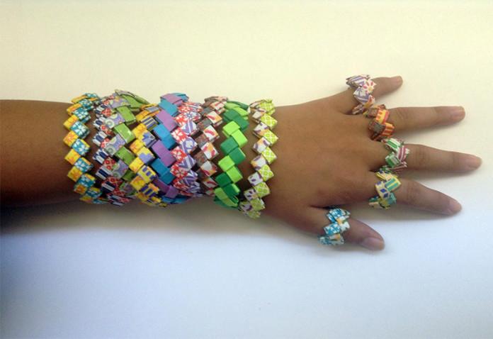 Paper-Bracelets