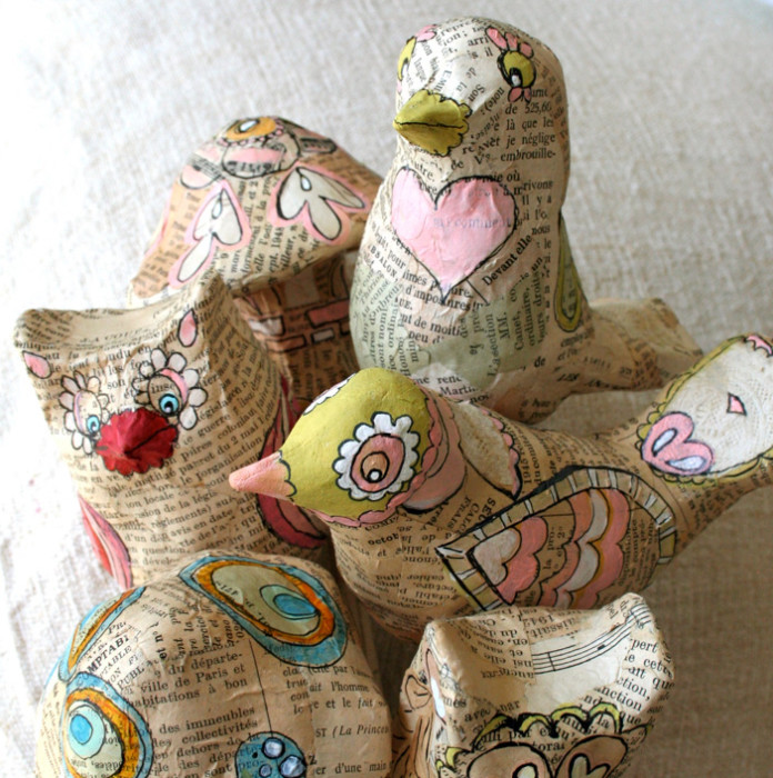Recycled Paper Mache